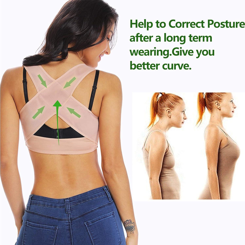 Formbekleidung Haltungs-BHS Tops Joyshaper Armformer Kompressions-/Ärmel f/ür Frauen zur Haltungskorrektur