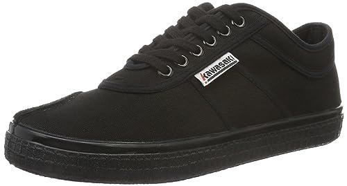 d501d9483d9 Kawasaki Unisex Sneaker Basic Canvas All Black 37  Amazon.co.uk ...