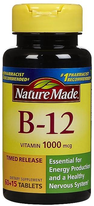 Nature Made, Vitamin B-12 1000 mg, 75 ct