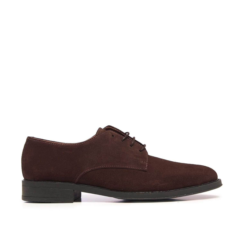 Castellanisimos Zapatos de Vestir Marrones Hombre con Cordones