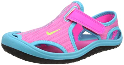 Nike Mädchen Sunray Protect (PS) Badeschuhe , Mehrfarbig (Pink ...