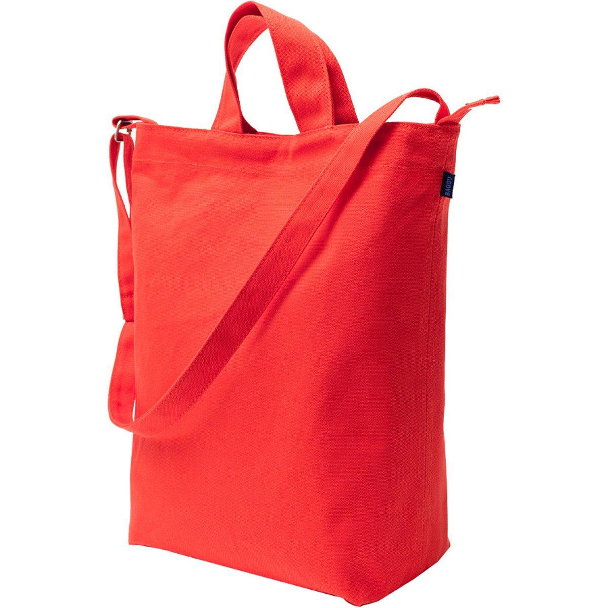 BAGGU Duck Bag キャンバストート One Size 852660996366 B00D5YDM8K ポピー ポピー