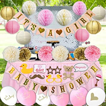 Amazoncom Golden Baby Shower Decorations For Girl Favors Photo