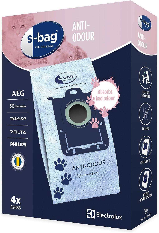 Electrolux e203s Bolsas para aspiradora S-Bag Anti-Odour (4 Pzz ...