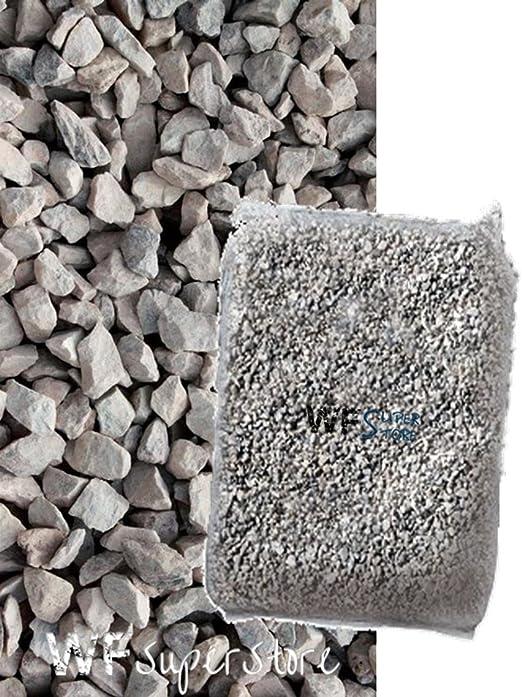 pietrisco Spaccato – Saco de 25 kg – Piedras Gravilla ghiaietto Sassolini: Amazon.es: Jardín
