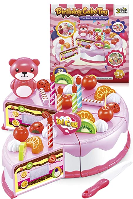 3 Bees Me Birthday Cake Toy Kit For 4 And 5 Year Old