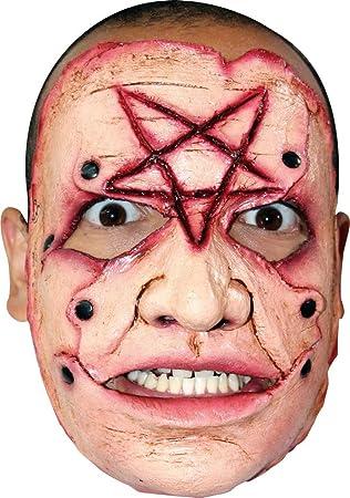 Máscara de asesino pentagrama