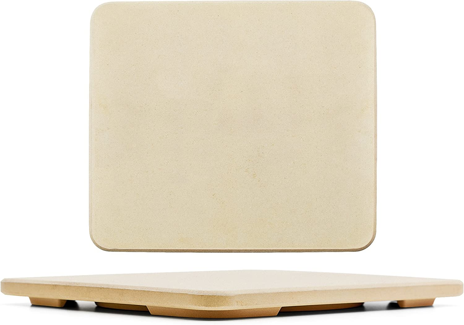 "#1 Pizza Stone - Baking Stone. SOLIDO Rectangular 14""x16"" - Perfect for Oven, BBQ and Grill 71JMojGEyqLSL1500_"