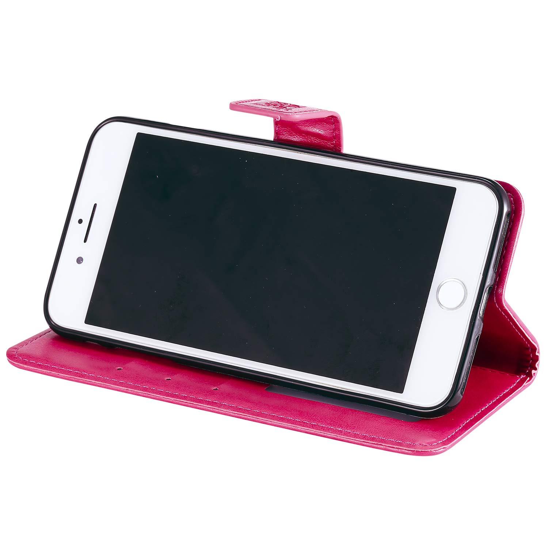 - LOHHA100010 Oro 5.5 Pollici Lomogo Cover iPhone 6S Plus//iPhone 6 Plus Custodia Portafoglio in Pelle Porta Carta di Credito con Chiusura Magnetica per Apple iPhone 6SPlus // iPhone 6Plus