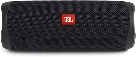 JBL FLIP 5 Waterproof Portable Bluetooth Speaker - Black [New Model]