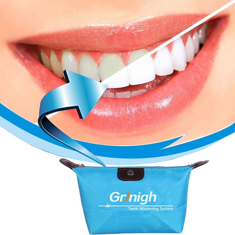 Family Teeth Whitening Kit 35% Carbamide Peroxide Dental Bleaching System Oral Gel Kit Tooth Whitener 30 Treatments for 2 Person