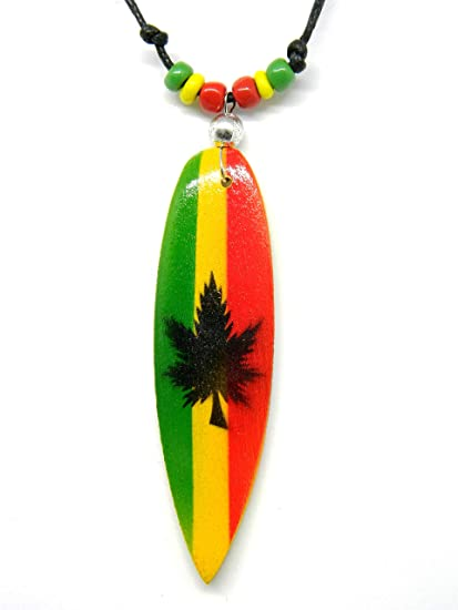 Rasta Collar Collar De Tabla De Surf