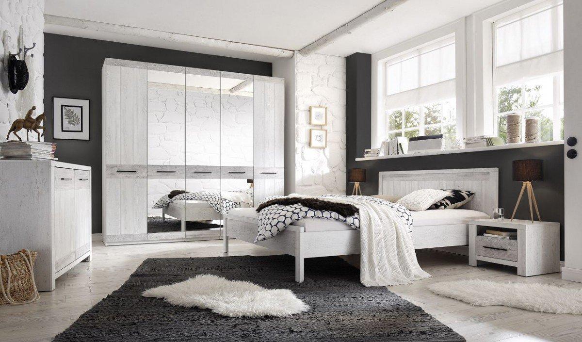 Dreams4Home Schlafzimmer Set U0027Prosahu0027   Set, Kleiderschrank, Schrank, 5 Trg.