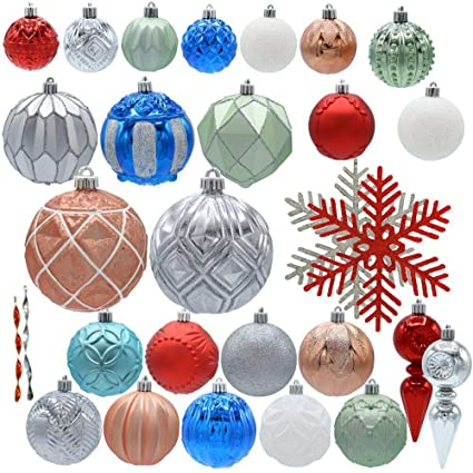 Amazon Home Accents Holiday Snowtop Dazzle Assorted Ornament