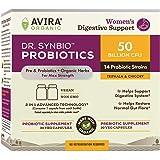Dr. Synbio Womens Digestive Support Probiotics & Organic Prebiotics – Triphala, Chicory, 50 Billion Cfu And 15 Multiple Strai
