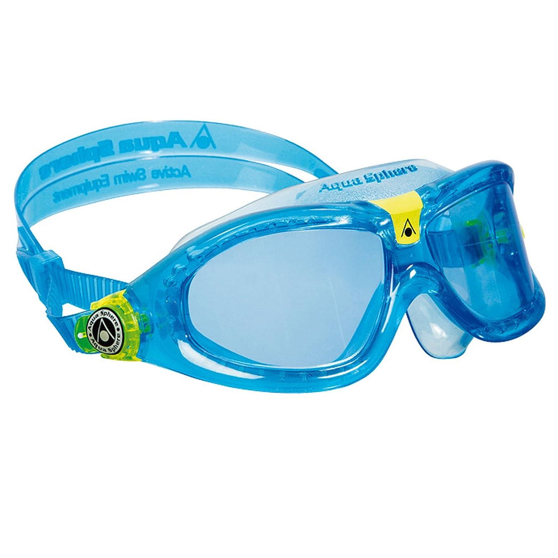 4020972ab30f Aqua Sphere Seal Kid 2 occhialini da nuoto per bambini, colore:  Blu/lime/blu: Amazon.it: Sport e tempo libero