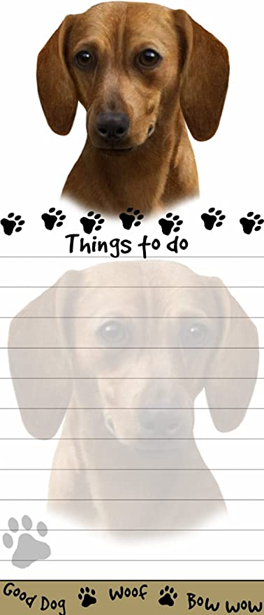 Golden Retriever Puppy Dog Magnetic NOTEPAD Note List Pads SET of 3