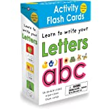 Wipe-Clean: Activity Flash Cards Letters: 26 double-sided wipe-clean flash cards -- includes pen!