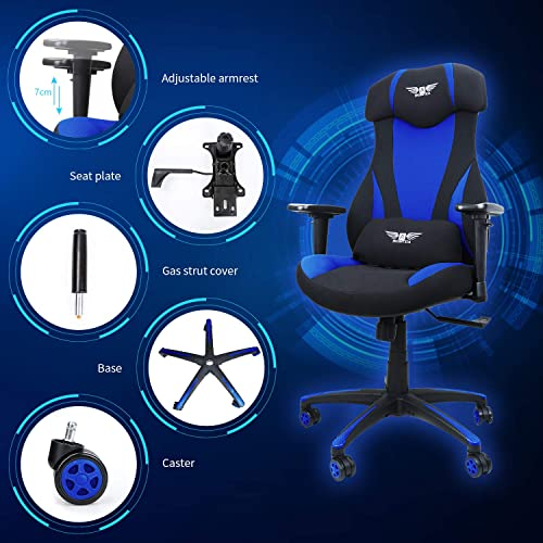 Acethrone Gaming Chair Racing Office Computer Ergonomic Video Game Chair Backrest - the best computer gaming chair for the money
