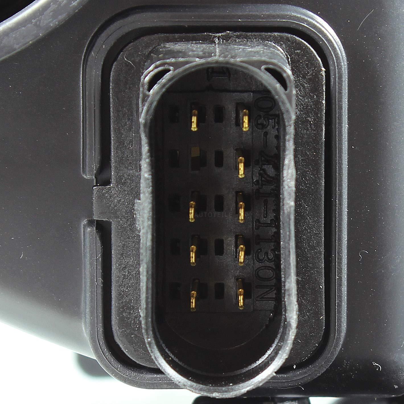 5P2 Halogen Scheinwerfer Set f/ür TOLEDO III 04.04-05.09 H7//H1 Bj