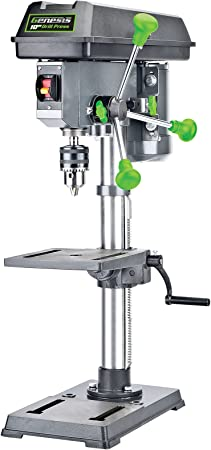 """Genesis GDP1005A 10"""" 5-Speed 4.1 Amp Drill Press with 5/8"""" Chuck ..."""