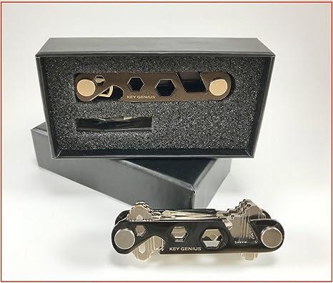 Amazon.com: Compacto Cadena de clave titular organizador con ...