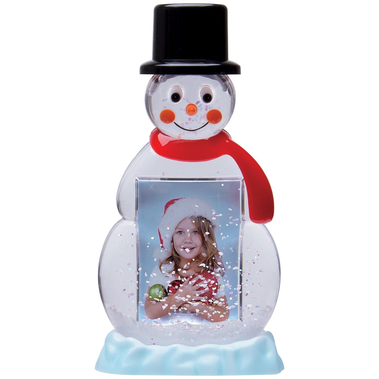 Neil Enterprises, Inc Snowman Photo Snow Globe Inc. 2715SINGLE