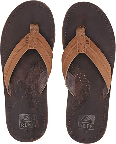 Men/'s Sandals Reef Voyage Brown