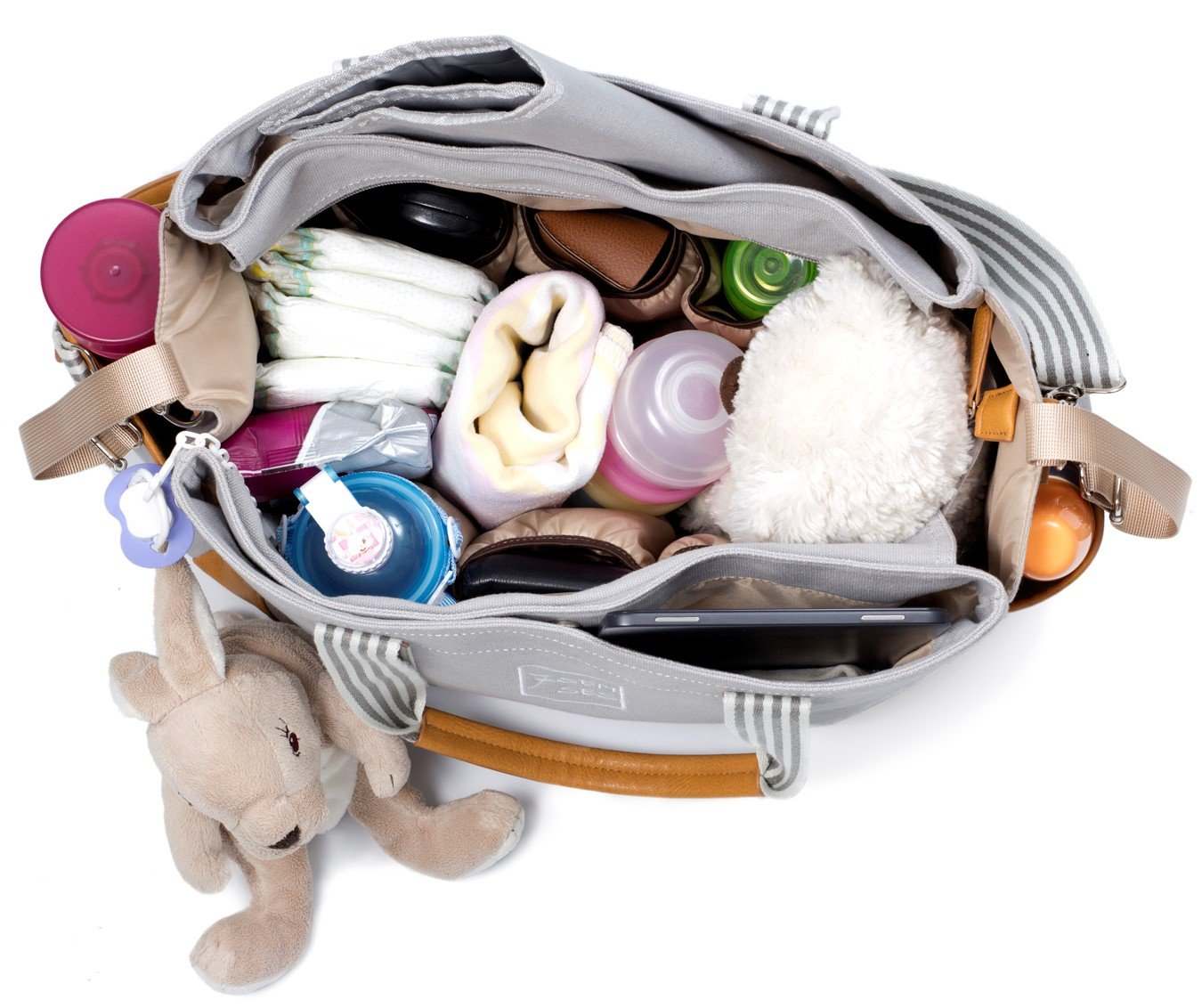 Amazon.com: Bolsa de pañales para niñas y ...