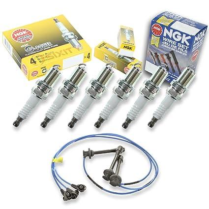 Amazon.com: NGK G-Power 6pcs Spark Plugs & Wires Toyota Tacoma 95-04 3.4L V6 Kit Set: Automotive