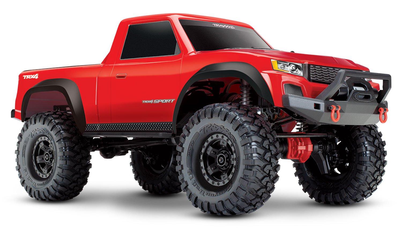 Traxxas 82024-4 TRX-4 Sport 4X4 1/10 Scale Crawler, Red