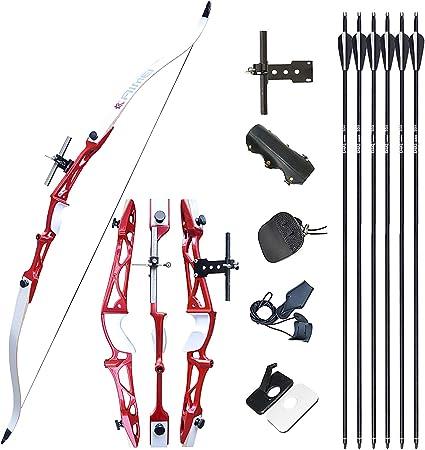 68 Bow, right Olympian Recurve Bow Kit