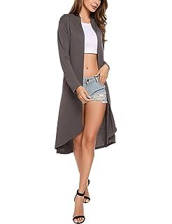 Meaneor Cárdigan Casual De Punto Chaqueta Outwear Para Mujer