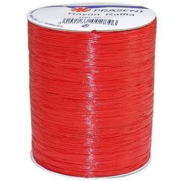 100-Yard Yellow Morex Ribbon Rayon Raffia Fabric Ribbon Spool