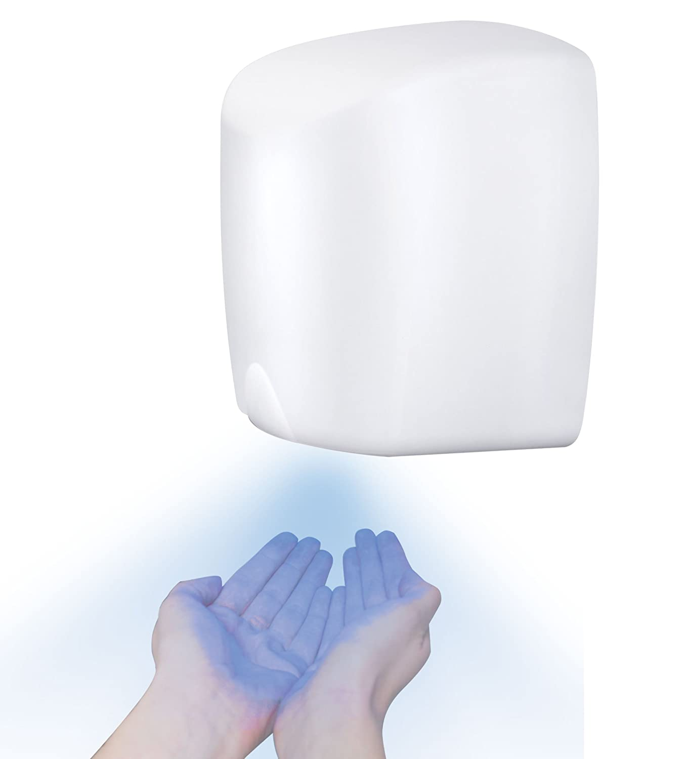 MINI JET HIGH SPEED HAND DRYER ELECTRIC AUTOMATIC COMMERCIAL WHITE