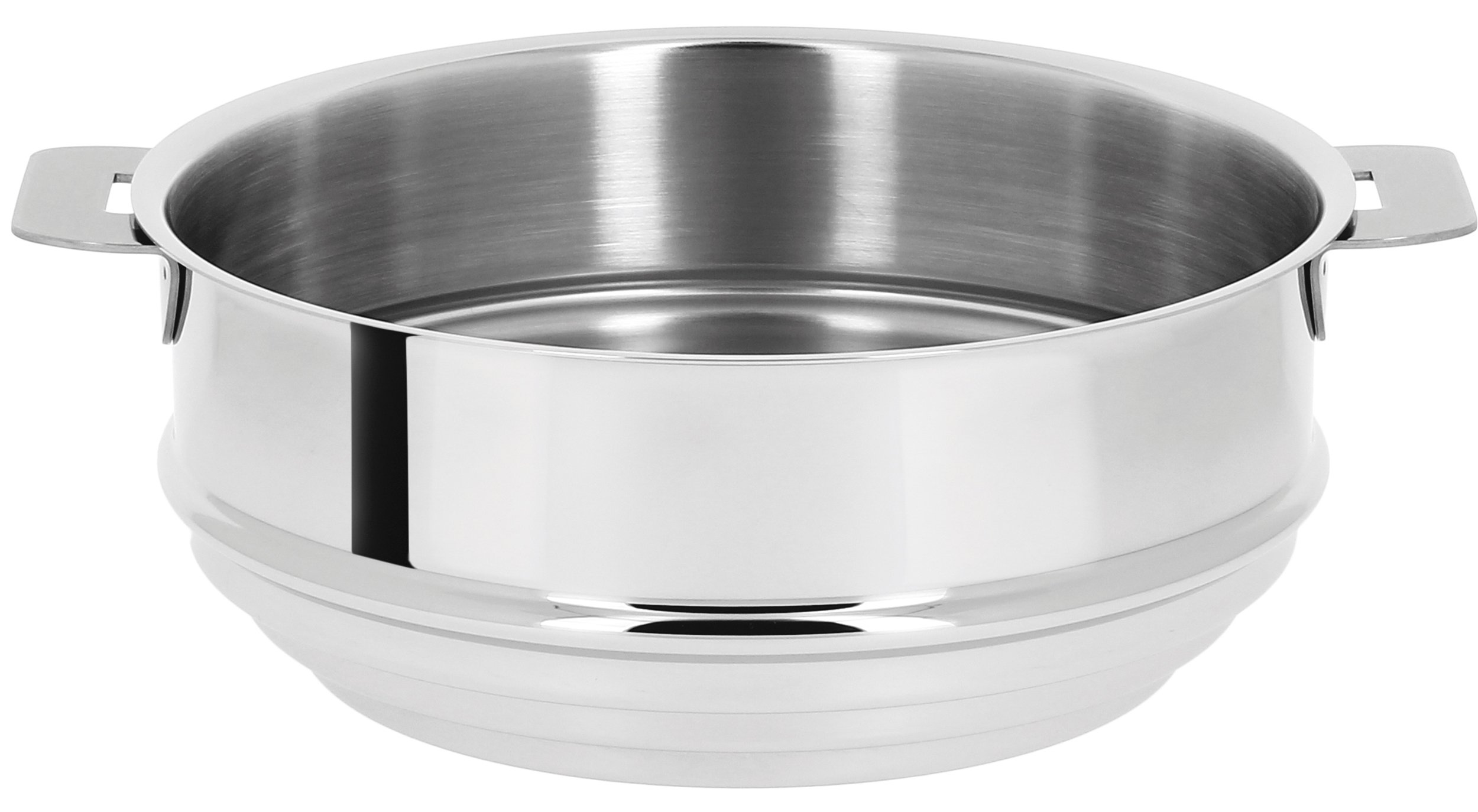 Cristel CVU20Q Steamer, 8'', Silver