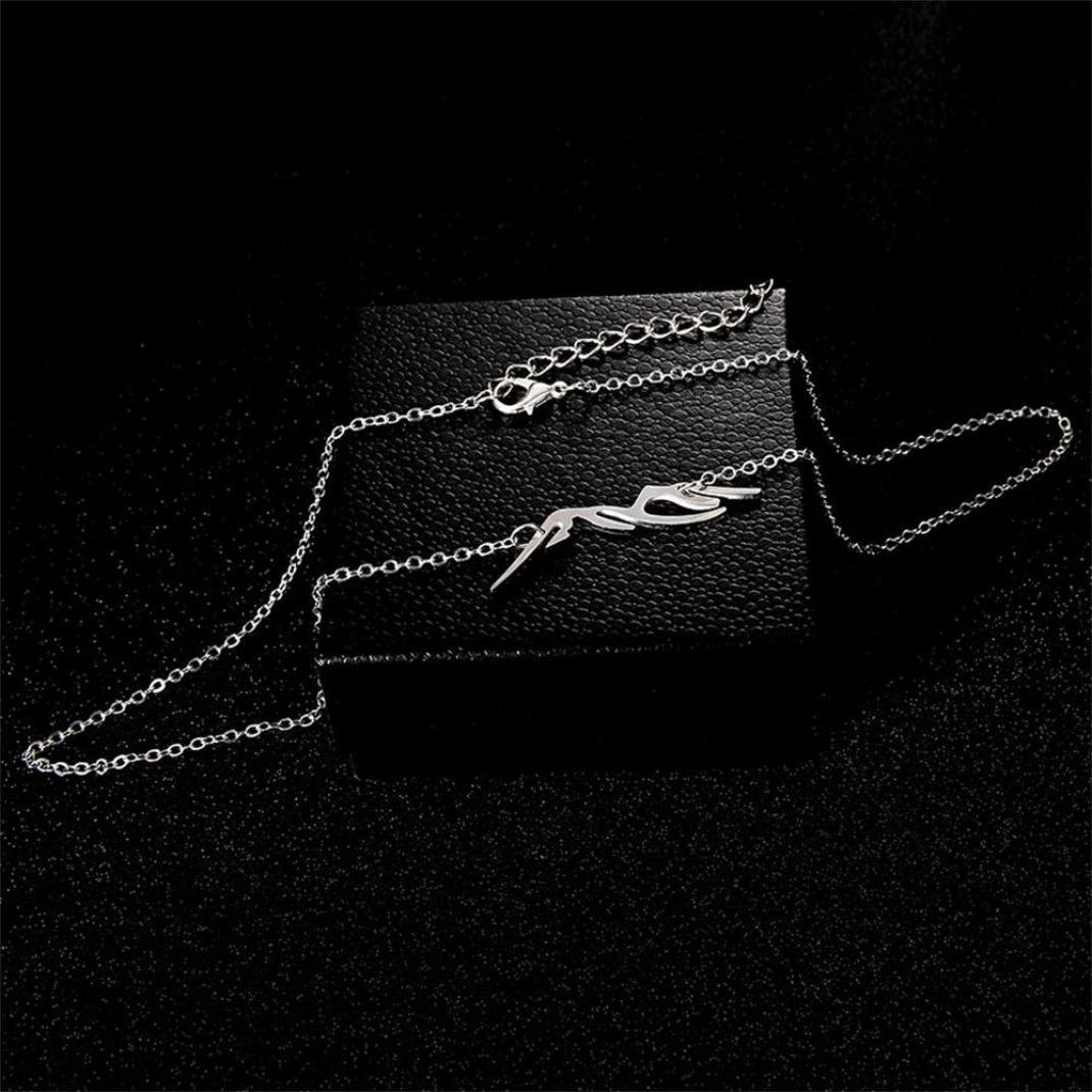 Stheanoo Womens Necklaces Personality Geometric Type Pendant Alloy Necklace Jewelry Ornaments for Party