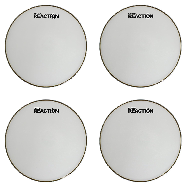 Pintech Percussion RH-10W-5PK Reaction Series White Mesh Head 10