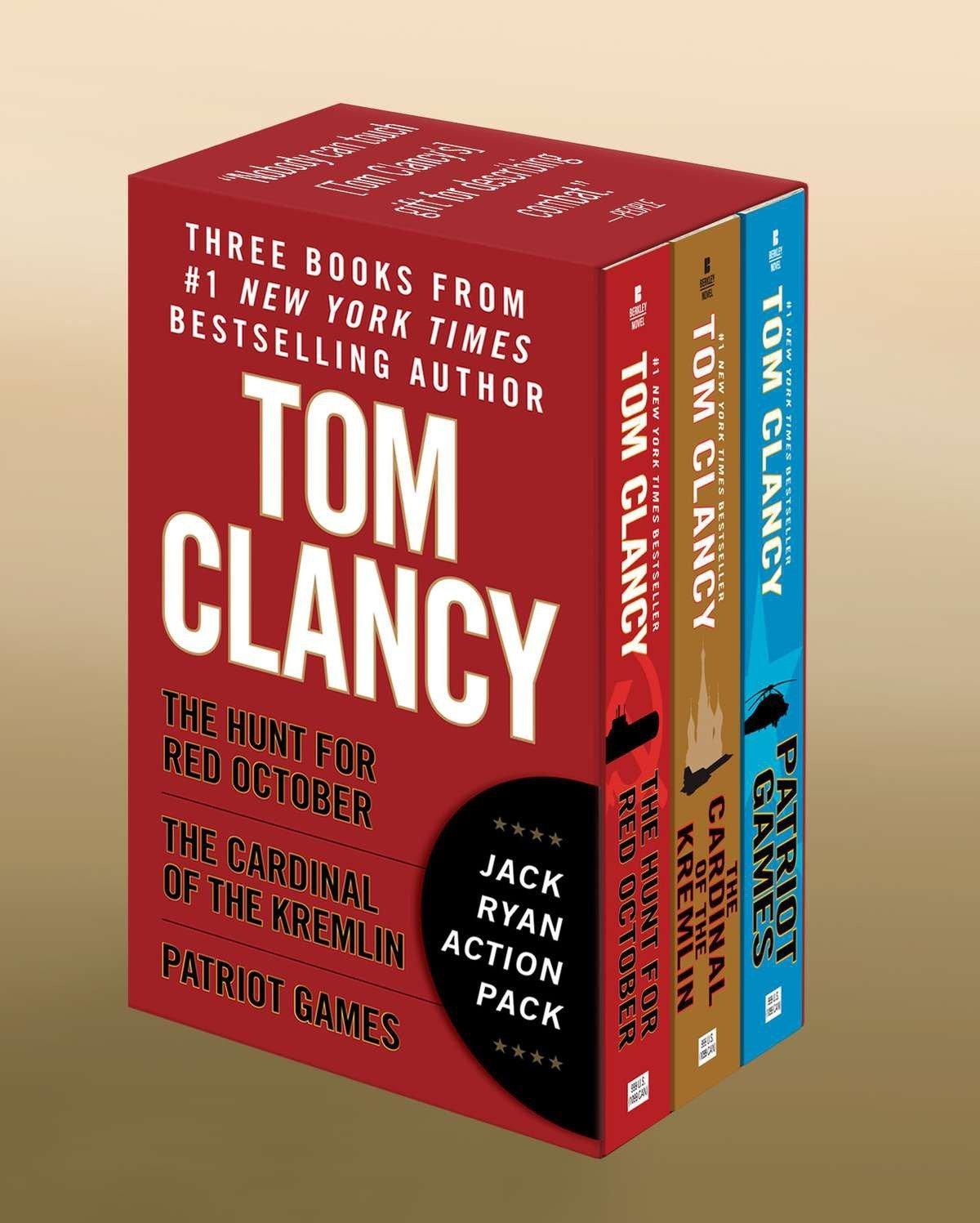 Tom Clancy's Jack Ryan Boxed Set (Books 1-3)
