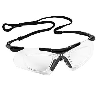 2d283e2522 Jackson Safety 38503 V60 Safeview Safety Glasses with RX Inserts ...