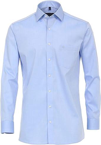Casa Moda Modern Fit 006539 - Camisa para hombre (manga extralarga de 69 cm) Azul (115). 43: Amazon.es: Ropa y accesorios