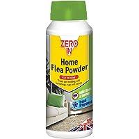 STV International Zero In 300g Home Flea Polvo (Killer Tratamiento Alfombras Alfombras en el Hogar, Mata Pulgas Larvae, Trata hasta 10sq m)