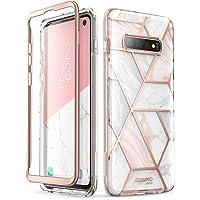 i-Blason Samsung Galaxy S10 Plus Case, [Cosmo] Glitter Sparkle Bumper Protective Case for Galaxy S10 Plus (2019 Release) (Marble)