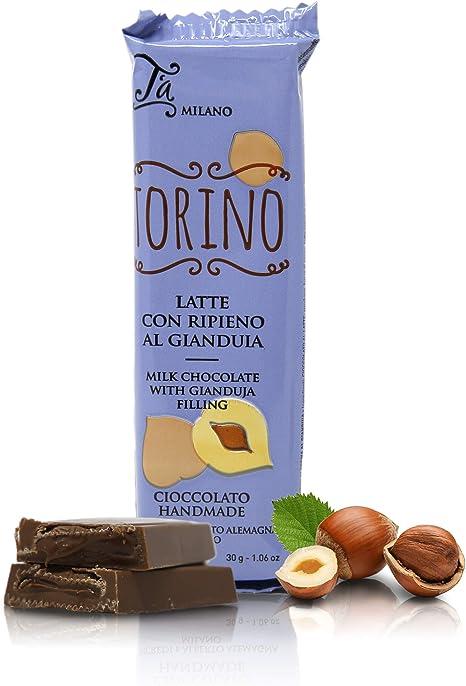 Mini Tableta de Chocolate con Leche rellena de Crema de Cacao y avellanas - 30 gr (Paquete de 5 Piezas): Amazon.es: Hogar