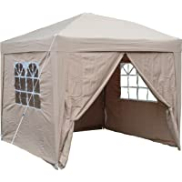 Airwave 2.5 x 2.5 m Pop-Up Garden Gazebo with 2 Wind-Bars and 4 Leg Weight Bags