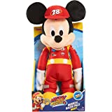 Just Play Roadster Racers Musical Racer Pals Mickey Plush