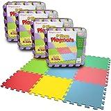 Kids EVA Foam Play Mat Interlocking Soft Playmat Set Tiles Floor Baby Childrens (4)