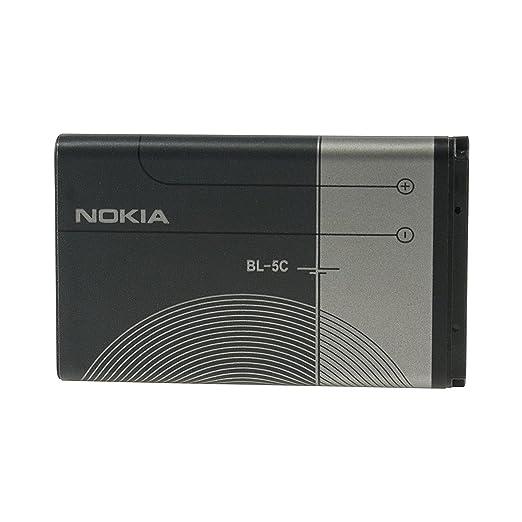 277 opinioni per Nokia BL-5C Batteria Originale agli Ioni di Litio, 1020 mAh, Grigio