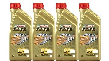 Castrol Edge Fst 5w-30 - Aceite para motor 100% sintético ACEA C3 ,