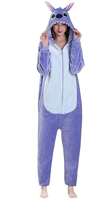 Yimidear® Unisex Cálido Pijamas para Adultos Cosplay Animales de Vestuario Ropa de dormir